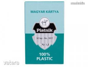 Plasztik magyar kártya