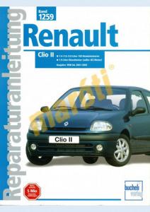 Renault Javítási kézikönyv, renault clio ii (német nyelvű)