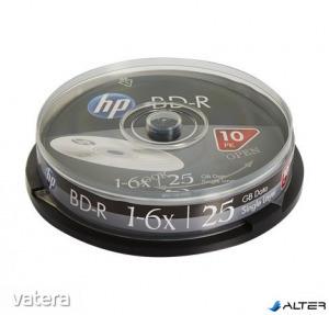 BD-R BluRay lemez, 25GB, 6x, hengeren, HP