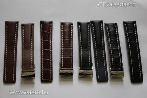 Breitling bőrszíj szíj óra óraszíj 22mm barna és fekete