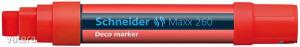 Krétamarker, 5-15 mm, SCHNEIDER Maxx 260, piros