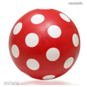 Pöttyös labda 22cm-es