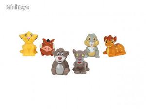 Disney kisállatok spriccelő figurák 7cm 1db többféle változatban