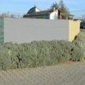 Antracit 1,5 x 10 méteres árnyékolóháló 180gr/m2 - Szürke