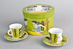 BC15T-Porcelán kávéskészlet