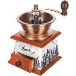 Banquet 56405006LAV Kézi kávédaráló porcelán Levendula