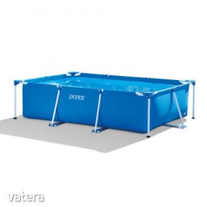 Fémvázas medence Intex 28272NP, téglalap alakú, 300 x 200 x 75 c