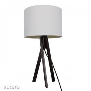 LILA typ 4 asztali lámpa,  fehér / fekete