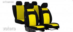 Univerzális Üléshuzat Tuning velúr sárga színben
