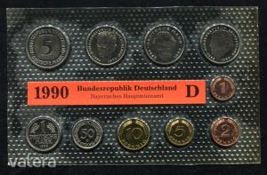 1990 D  Németország  nylon tokos forgalmi sor  BG27
