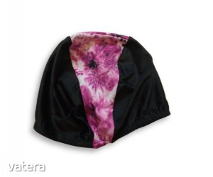44-54 cm-es fejre fekete-rózsaszín úszósapka