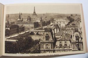 Régi képeslap sorozat 1920 -1940 Párizs monoprix - 8 db művészi  képeslap perforálva