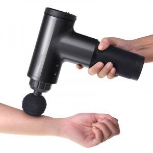 MassageGun - Masszázs Pisztoly - izom masszírozó regeneráló gép - akkumulátoros Fekete
