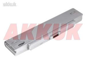 Helyettesítő akku Sony VAIO VGN-N31M/W 5200mAh ezüst