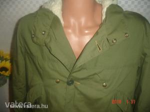 Minőségi    FRATINI     L-s    kivehető   béléses   khaki   színű   kabát. - Aukció Kép