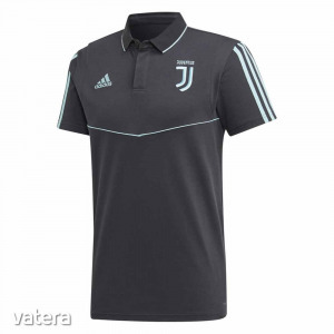 Juventus póló felnőtt galléros Adidas szürke