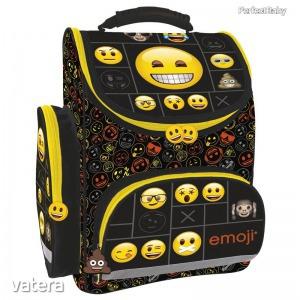 Emoji ergonomikus iskolatáska 37 cm