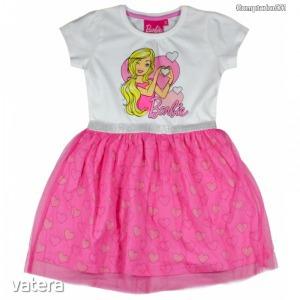 Barbie mintás tüllös ruha (104,110,116,122,128) - Vatera.hu Kép