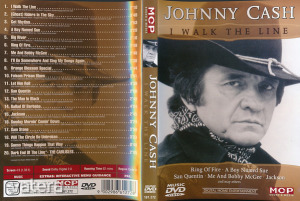 Johnny Cash -(I Walk The Line) - DVD - TOTÁL HIBÁTLAN!