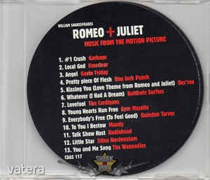 Romeo + Juliet (Music From The Motion Picture) PROMO. zenei cd - 999 Ft Kép