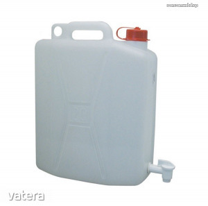 Műanyag kanna 10 literes, zárható csappal Kód:54911