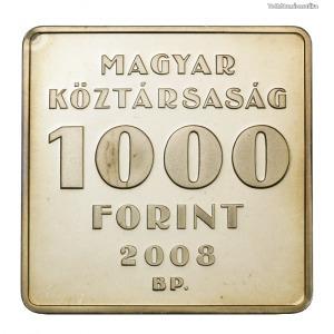 Puskás Tivadar Telefonhírmondó 1000 Forint 2008 PP