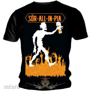 Zorall - SÖR-ALL-IN-PIA. zenekaros póló