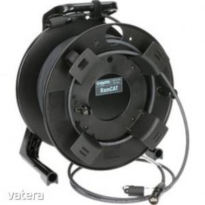 Klotz CAT6 ? mobil kábel dobon, 30 méter ? Neutrik EtherCon CAT6A csatlakozók + Cat6, SF/UTP kült...