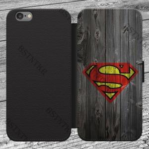 Superman mintás Samsung Galaxy J5 2016 kinyitható flip flipes tok oldalra nyíló