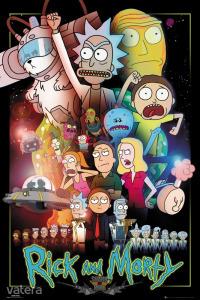 RICK AND MORTY - Morty Wars. plakát, poszter