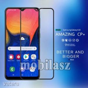 Samsung SM-A105F Galaxy A10, Nillkin Amazing CP+ üvegfólia, 9H, 0,3mm, A teljes kijelzőt védi, Fe...