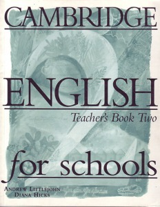 : Cambridge English For Schools 2 TB