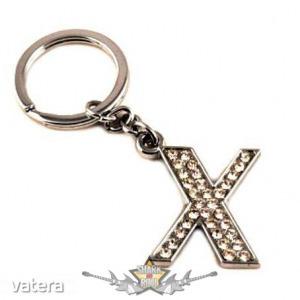 X - MONOGRAM. fém kulcstartó