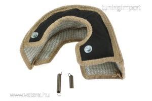 Turbó hővédő bandázs T6 fekete EPMAN