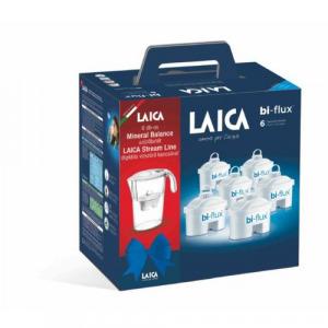 Laica J996033 Mineral Balance vízszűrő betét 6db-os csomag StreamLine kancsóval
