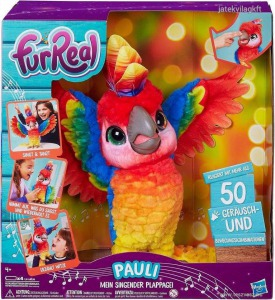 Fur Real Friends interaktív papagáj, Pauli