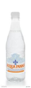 Ásványvíz, szénsavmentes, pet palack, ACQUA PANNA, 0,5 l