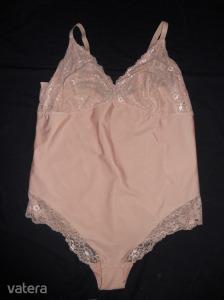 Új, XL-XXL-XXL-es H&M,  nude színű, molett body