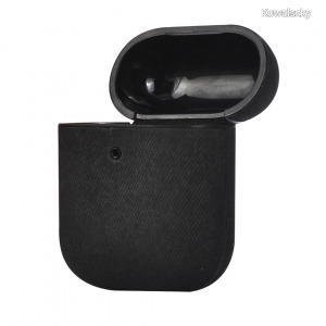 TERRATEC AIR Box Apple AirPods Protection Case Fabric Black 306849
