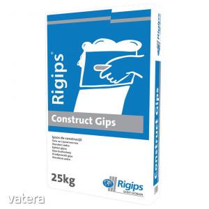 Gipsz beltéri, Rigips Construct, 25 kg