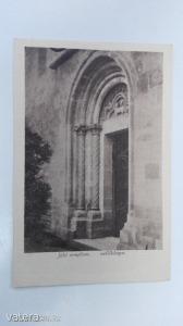 Jáki templom - mellékkapu / képeslap (*45)