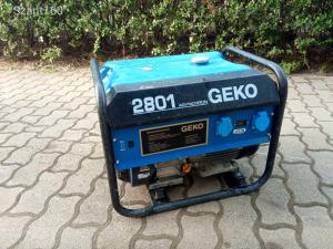 Benzinmotoros áramfejlesztő generátor