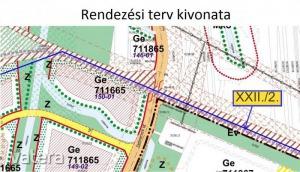 Vegyes (lakó- és kereskedelmi) terület Nyíregyháza Debreceni út Ipari park