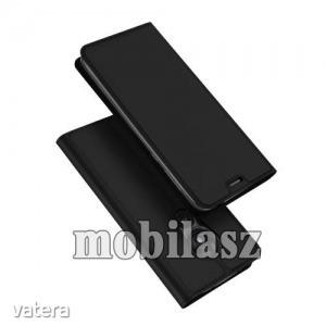 MOTOROLA Moto G7 Play, DUX DUCIS Skin Pro notesz mobiltok, Fekete