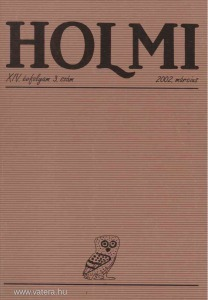 HOLMI 2002. március - Réz Pál