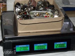 10ohm - 1MOhm potméter, 83db. 2700g