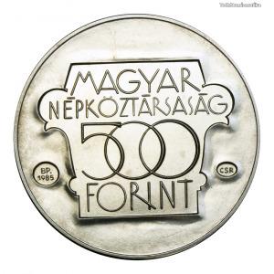 Kulturális Fórum 500 Forint 1985 BU