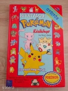 HIVATALOS POKEMON kézikönyv      -Pokémon Pikachu