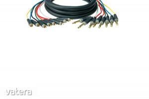 Klotz - JACK-RCA 8 csatornás multilink kábel 6 m