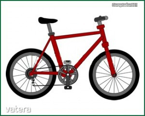 Matrica ovisjel/bölcsisjel bicikli (1,5x1,5cm)